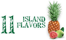 11 island flavors - tropical and delicious