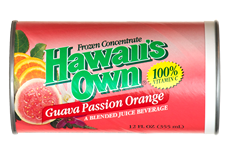Hawaii's Own - Guava Passion Orange