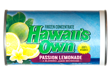 Hawaii's Own - Passion Lemonade